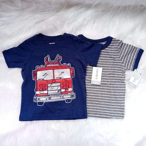 Kit 2 Camisas Carter's
