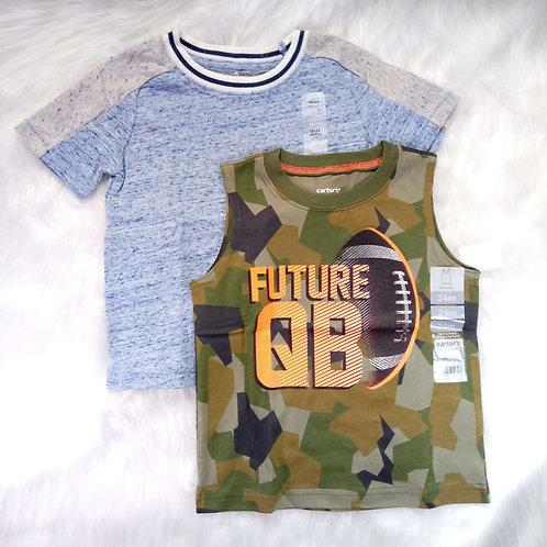 Kit 2 Camisas Carter's/GAP