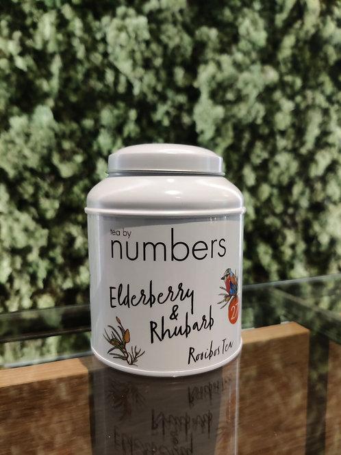 Tea by numbers / Elderberry & Rhubarb