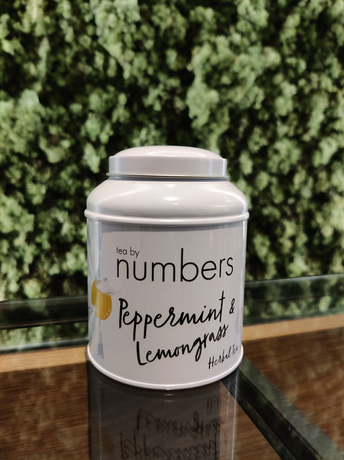 Tea by numbers / Pepermint & Lemongrass