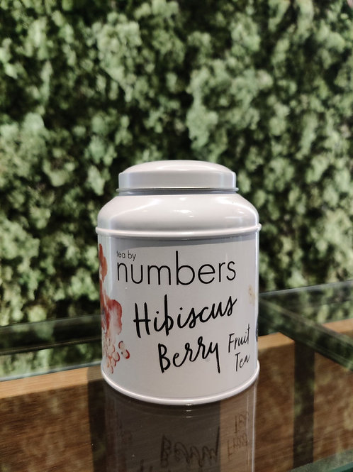 Tea by numbers/ Hibiscus Berry Fruit Tea