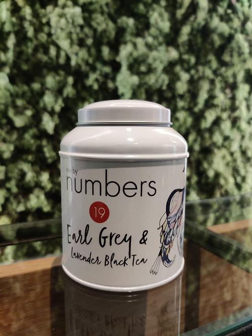Tea by numbers / Earl Grey & Lavender Black Tea