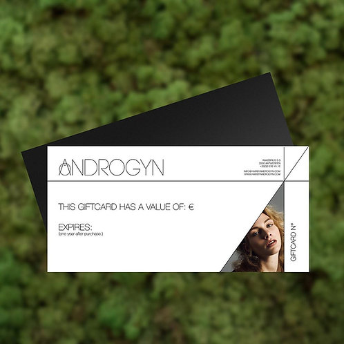 Androgyn Giftcard