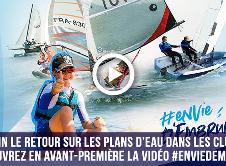#EnviedEmbruns - Une séquence vidéo tournée au SNO Nantes par l'équipe com de la fédé !