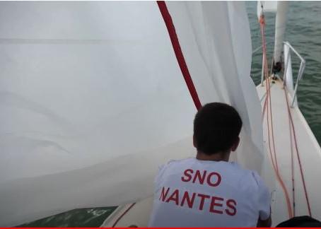 Quelques images de l'équipage SNO à #LNVoile