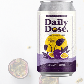 Daily Dose Passionfruit Gose - Mountain Culture Beer