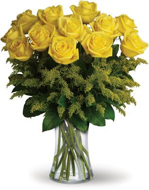 Sunshine Arrangement of Roses