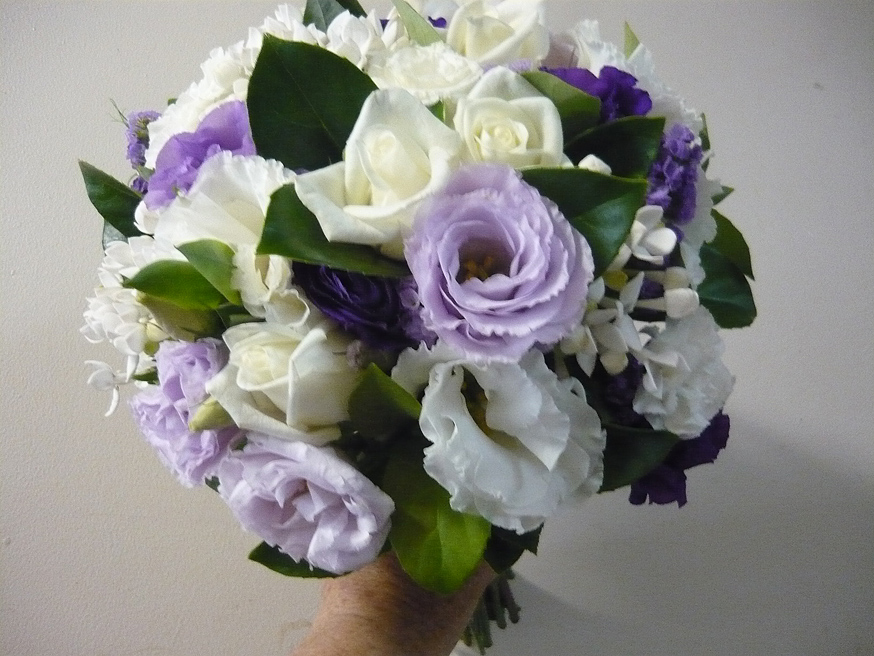Warringah Florist Bouquet Mauve