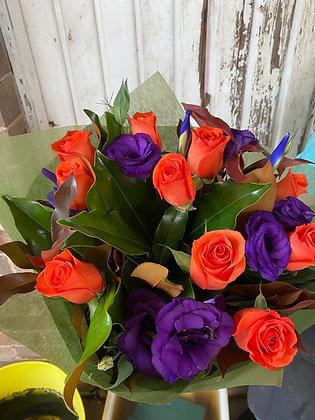 Orange & Purple Smarties