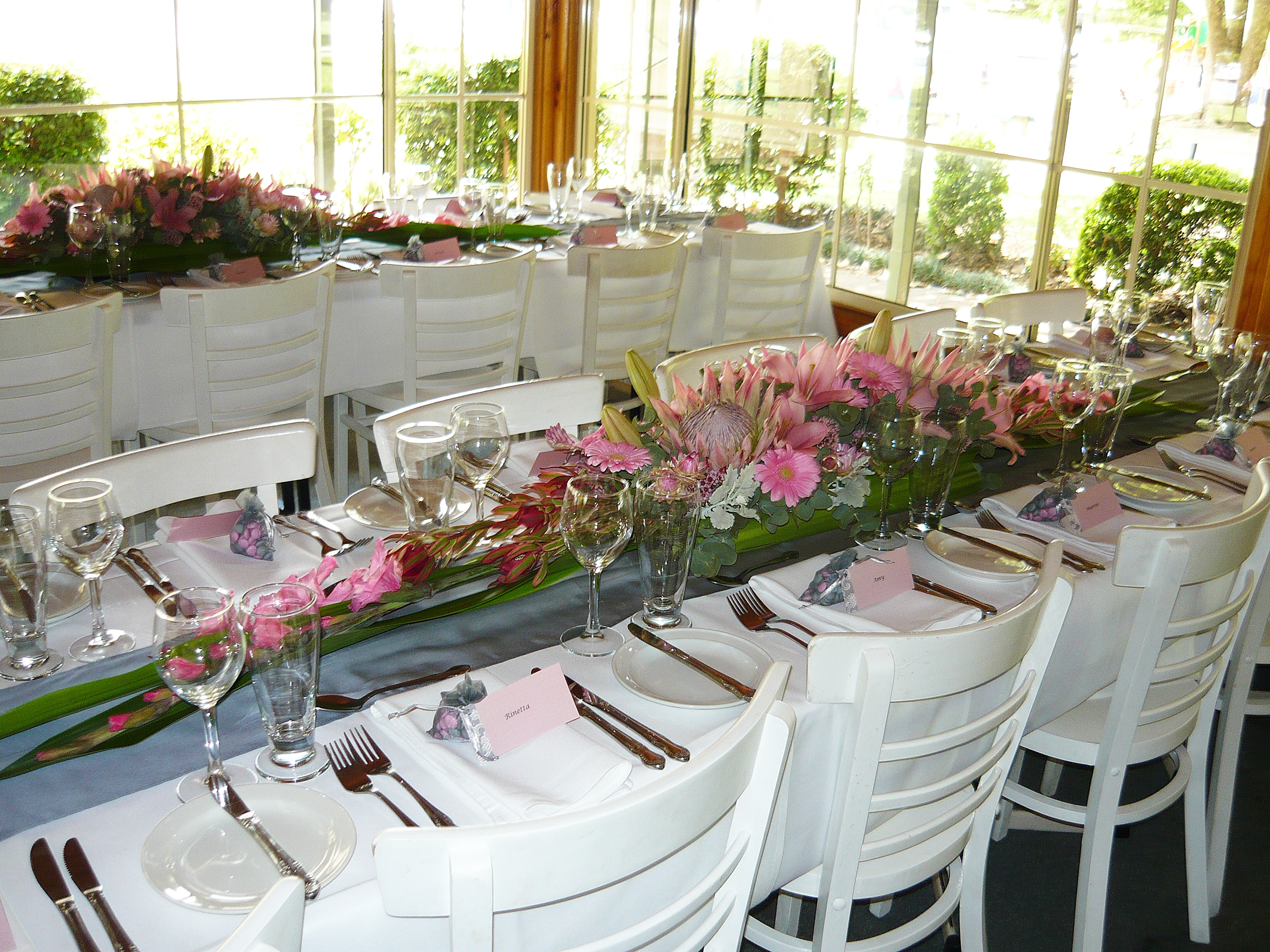 Warringah Florist wedding table
