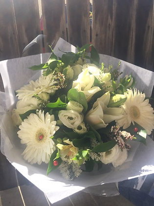 Just White Bouquet