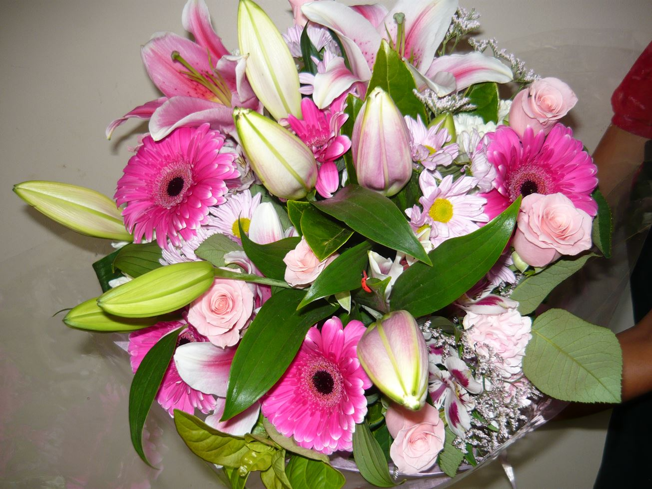 Warringah Florist Pink blooms