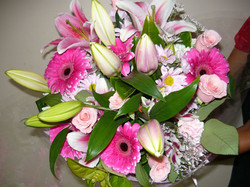 Warringah Florist Pink blooms