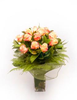 Warringah Florist peach roses