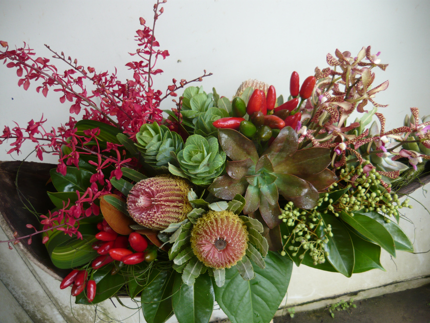 Warringah Florist Bouquet Succulent