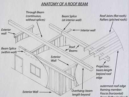 Anatomy Of A Roof Beam: