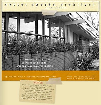 Carter Sparks Frame Residence