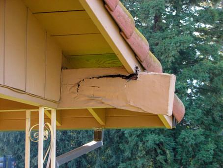 Failing Roof Beams