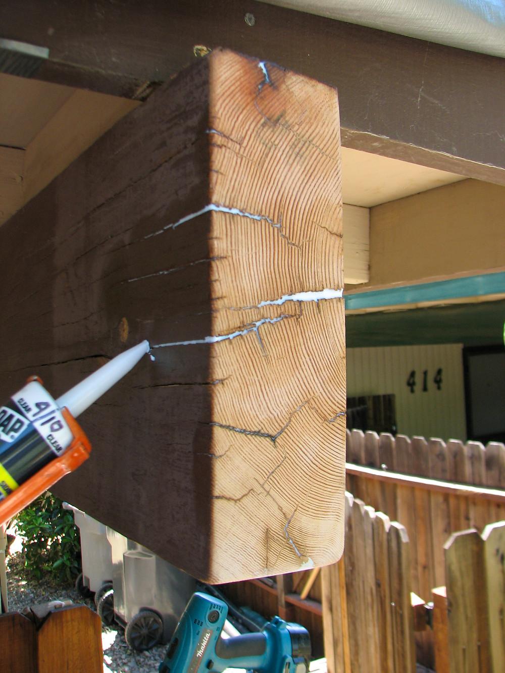 Exterior Beam Repair Technique