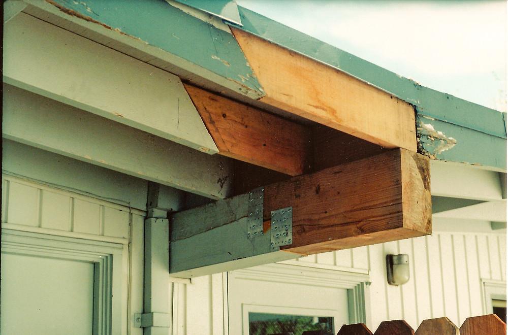 Roof Beam Repair FAIL!
