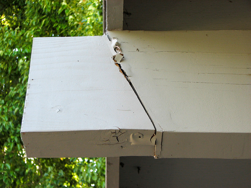Exterior Beam Repair Splice Joint Using An Angle Cut