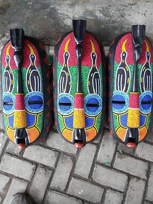 African Masks - Ghana 1