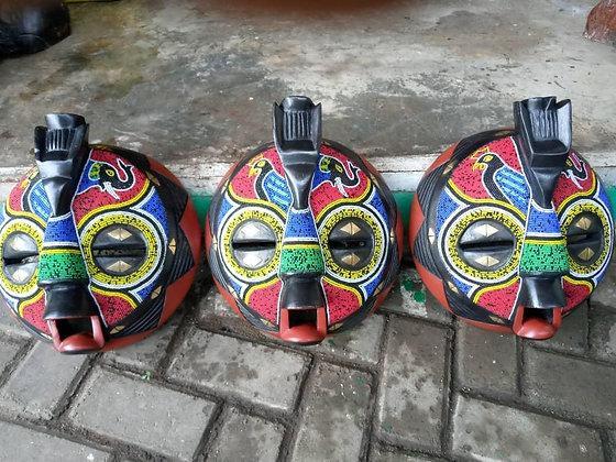 African Baluba Masks