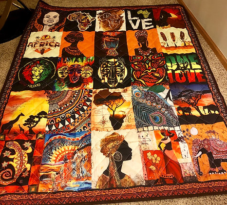 African Culture Quilt