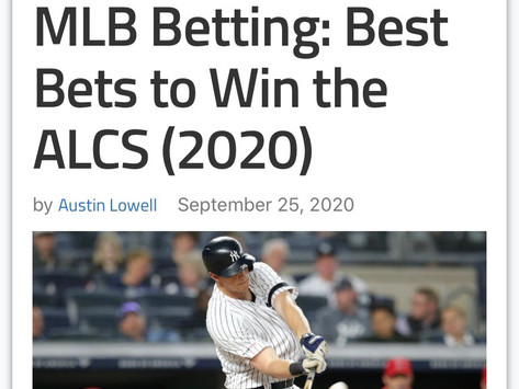 Best Bets to win the ALCS