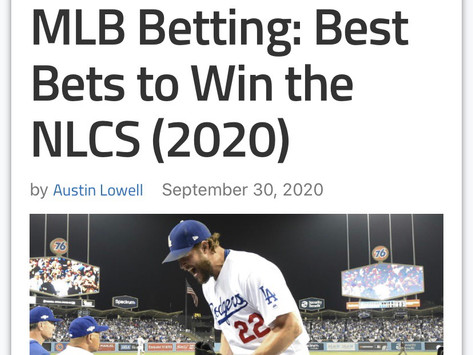 Best Odds to Win the NL Pennant