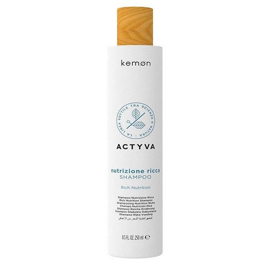 Серия Kemon Nutrizione Shampoo Ricca интензивно подхранване