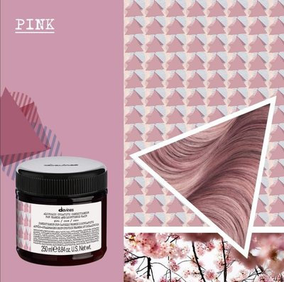 Alhemic Creative Pink Davines conditioner