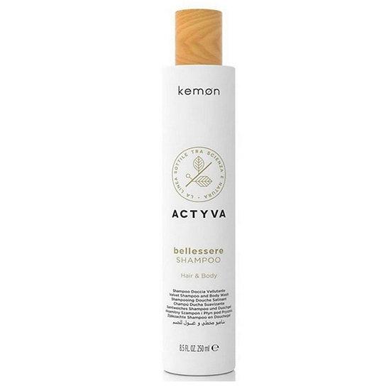 Kemon Bellessere Shampoo с арганови и ленени масла.