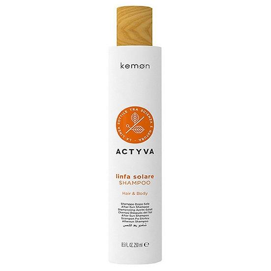 Kemon Linfa Solare Shampoo (слънцезащитен шампоан за коса)