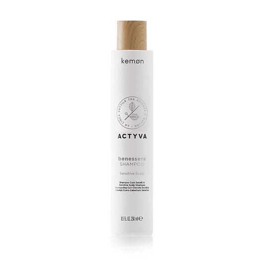 Kemon Benessere Shampoo за чувствителен скалп