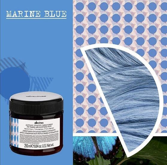 Alchemic Creative Marine Blue Davines conditioner