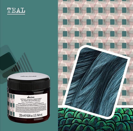Alhemic Creative Teal Davines conditioner