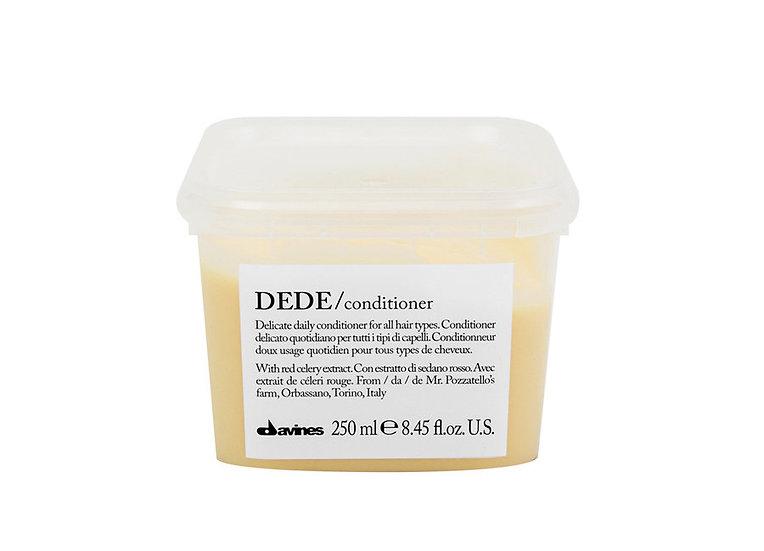 Dede Conditioner Davines (Деликатен ежедневен балсам за коса)