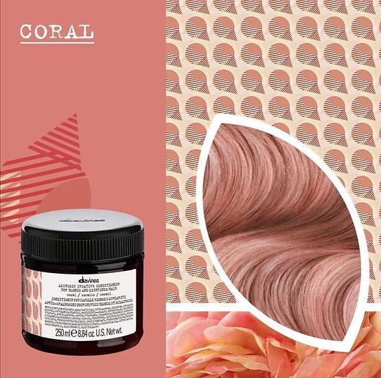 Alchemic Creative Coral Davines conditioner