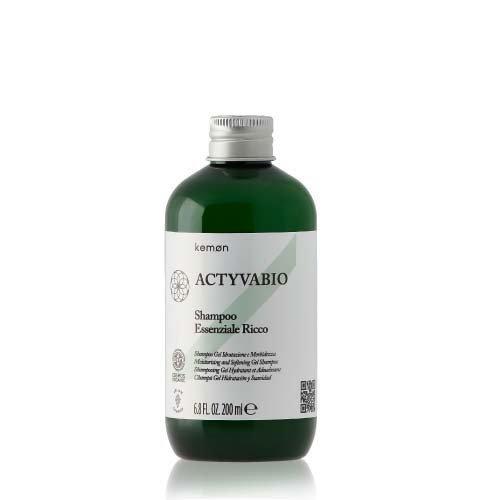Kemon Actyva Bio Essenziale Shampoo Ricca почистващ шампоан