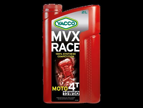 MVX RACE 4T SAE 15W50