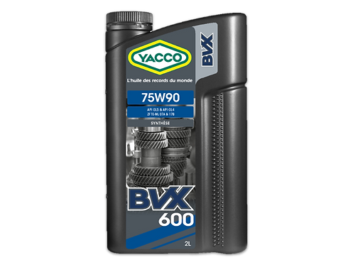 BVX 600 SAE 75W90
