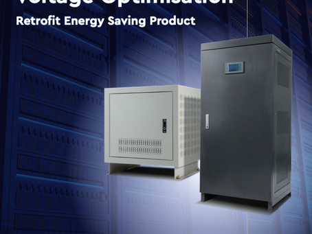 Voltage Optimisation (Great energy saving starts at source!)