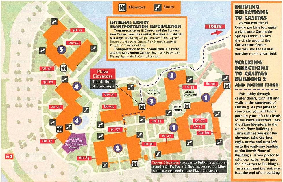 Coronado Springs Resort Csr Website Csr Resort Maps