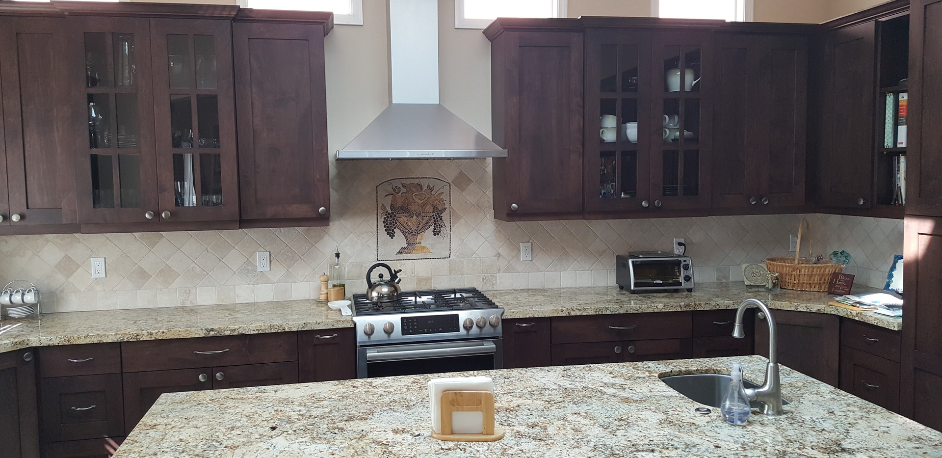 Stained Maple Kitchen