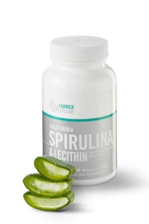California Spirulina & Lecithin Tabs