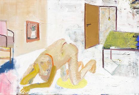 Shanee Roe, Open Door, 2021, oil on canvas, 100x76cm.jpg