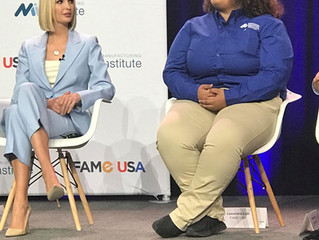 KTECH Graduate Shares Stage with Ivanka Trump