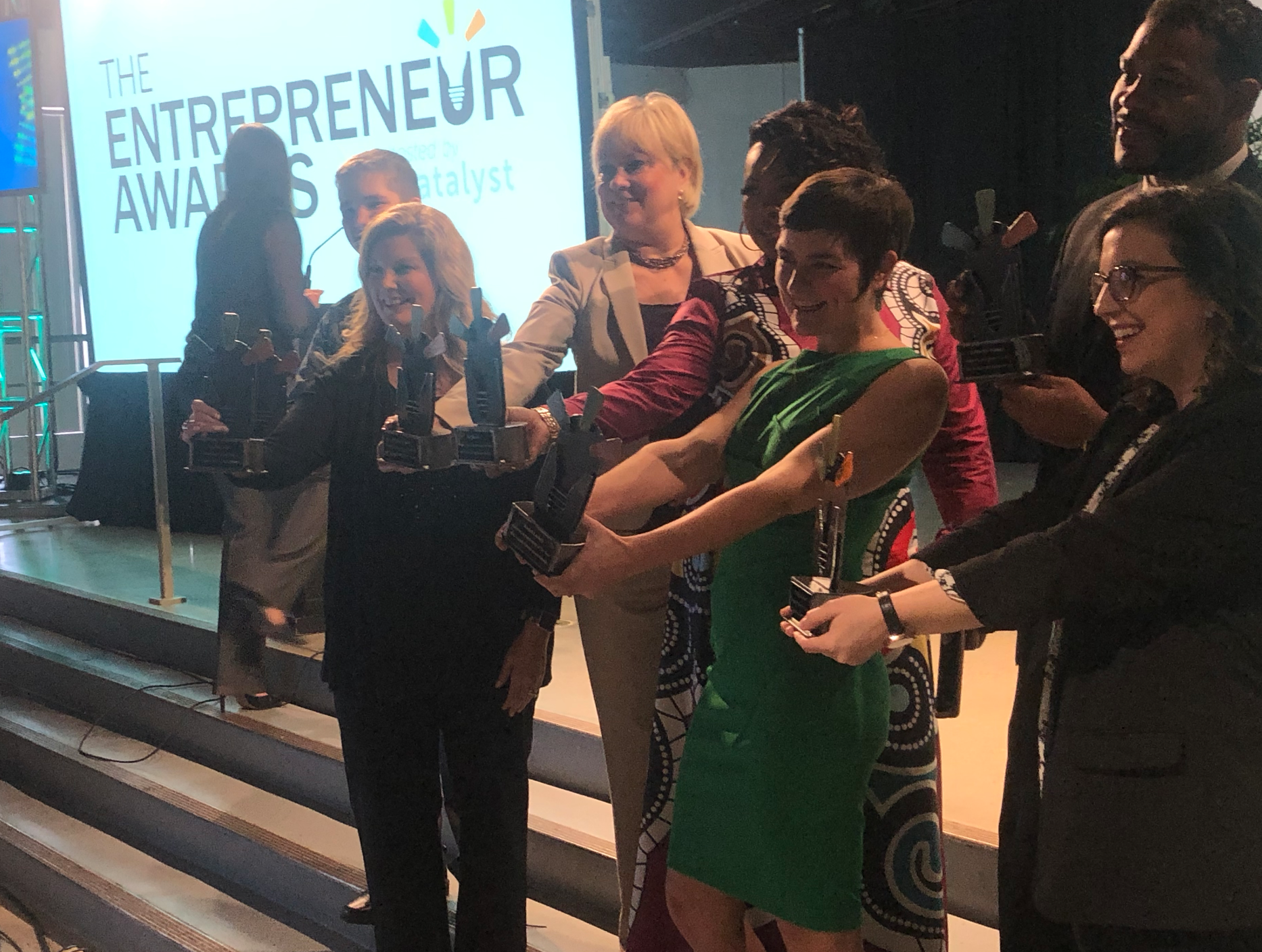 Entrepreneurship Award winners