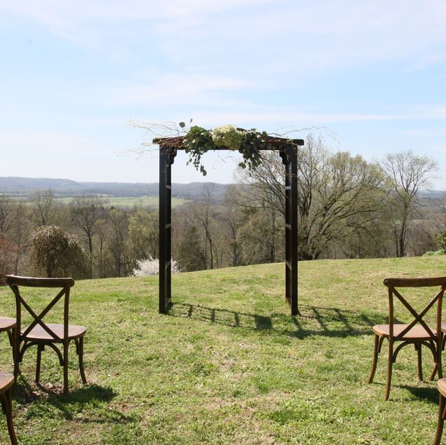 A ceremony or dining option overlooking the sprawling woodland meadow is an absolute showstopper. The dramatic horizon views of the estate's southern border will have you and your guests feeling on top of the world